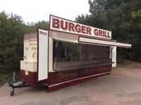 18ft Mobile Catering Trailer Top Quality