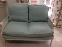 Beautiful upholstered French style chair and sofa