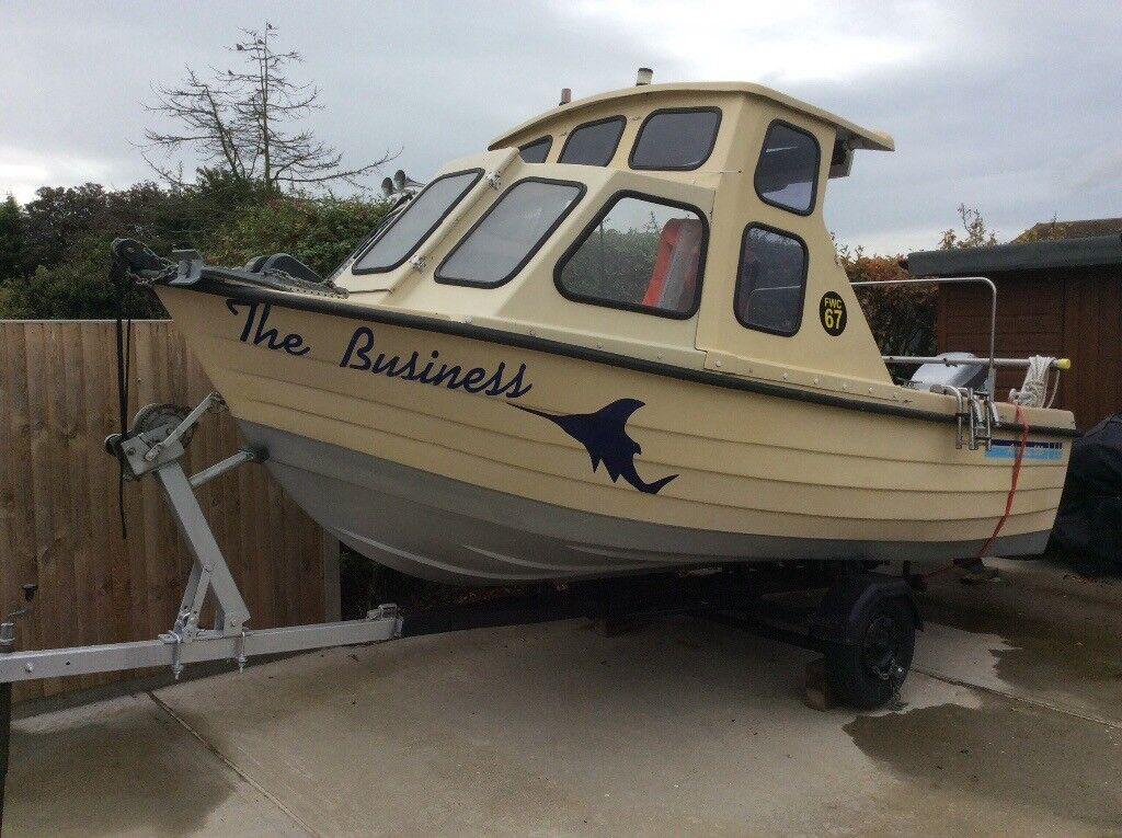 Alaska 500 fishing boat 16 foot in kirby cross essex for 16 ft fishing boat