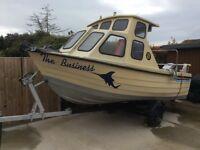 Alaska 500 fishing boat 16 foot