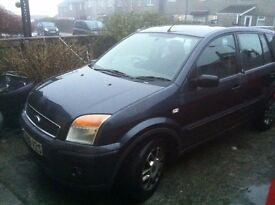 2006 ford fusion 1.4 tdci 122k miles mot july cheap tax and insurance 60mpg