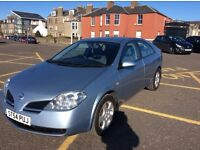 Nissan Primera S TD 54 Plate, Blue, Genuine 22,350, Service History, excellent condition.