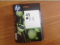 HP45 black cartridge