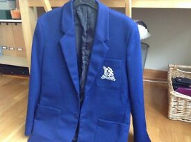 Dalziel High School male school blazer