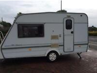 Swift silhouette classic two berth touring caravan model year 1997