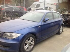 BMW 116i 2007 breaking all parts available