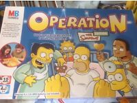 MB games Operation Simpsons