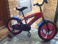 Spider-Man kids bike
