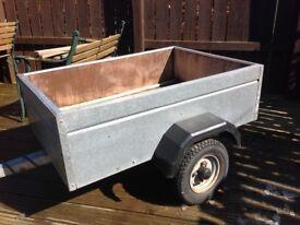Caddy car trailer