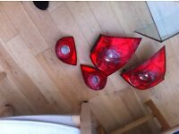 vw mrk5 golf tail lights