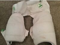 Thigh protection pads