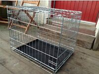 Dog cage / crate as new