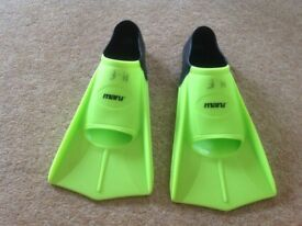 Swimming training fins size uk 4-5