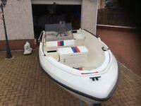 Seabird 700 family boat
