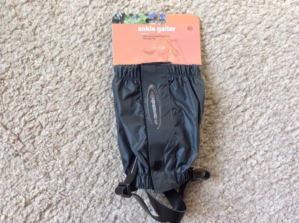 Ankle Gaiters.