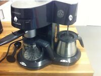 Used Morphy Richards Coffee Machine - cappuccino and espresso maker machine for sale