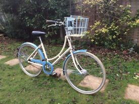 LADIES PASHLEY SONNET 3 SPEED ROADSTER/TOWN BIKE WITH BASKET
