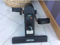 Mini exercise bike by Jocca new never been used