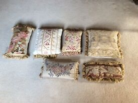 6 Tapestry Cushions