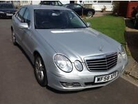 Mercedes Benz e220 Cdi automatic 2008 facelift model 4 door saloon very high miles