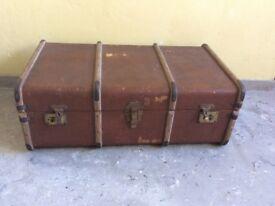 Vintage steamer trunk