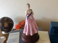 Royal Doulton the queen mother as ne