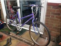 Ladies Retro Raleigh Mountain Bike 10 speed (made in England