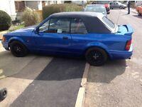 Ford Escort XR3i Mk4 Cabriolet 1990