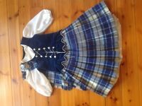 Highland dancing outfit for 9-12 year old