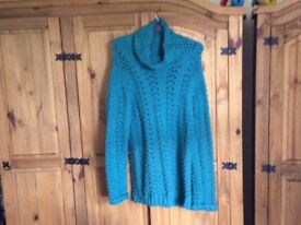 Hand knitted women's cardigans and jumpers