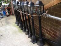 9 tall rockingham outdoor lights