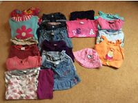Bundle of girls clothes aged 3-4 years