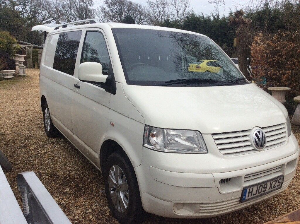 Vw transporter day van with Vw seat/ bed 2009 | in New Milton, Hampshire | Gumtree