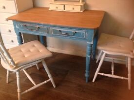 Shabby chic painted table/desk