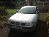 SEAT Ibiza for sale Spares or Repairs