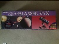 TELESCOPE FOR SALE, TASCO GALAXSEE with EQUATORIAL MOUNT
