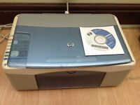 HP PSC 1210 ALL IN ONE PRINTER, SCANNER, COPIER