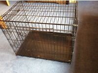 Puppy Crate: 2 door, folding