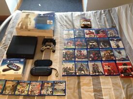 Ps4 and ps vita hardly used, both 6 months old bundle