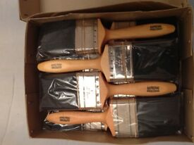 """A Box 12no Professional Quality 3"""" Paint Brushes"""
