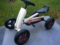 BERG BUZZY FIAT 500- RIDE ON CHILDREN'S PEDDLE CART £65 AS NEW **