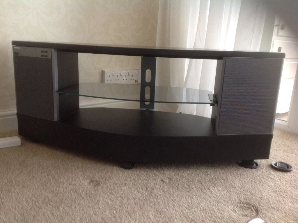 Panasonic Tv Stand With Built In Speakers In Milton Keynes