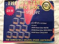 Styljet ink Cartridge for Epson