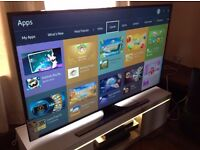 """SAMSUNG 48"""" 48JU6400 SUPER Smart 4K ULTRA HD TV,built in Wifi,Freeview HD,excellent condition"""