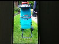 For sale Bosch AXT 2000 Garden Shredder in very good condition.