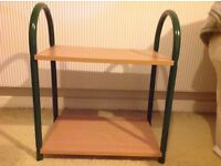 Sturdy small table big enough for small TV or fishtank
