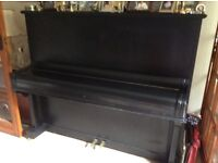 Old German upright piano