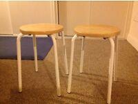 2 stools. Free to good home!