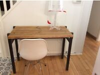 Bespoke, contemporary, industrial style console/dressing table-Free delivery