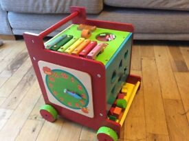 Activity cube and walker